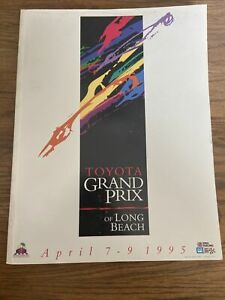 1995 Toyota Grand Prix Of Long Beach Cart/Indycar Racing Program