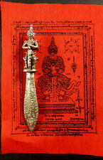 TEMPLE GUARDIAN MEED MOR PROTECTION AMULET FROM WAT BANG PHRA TEMPLE