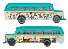 Busch H0 W13 Weihnachtsbus 41000110 NEU/OVP