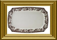 NEW SPODE DELAMERE LARGE PLATTER~THANKSGIVING~MATCHES WOODLAND~2 AVAIL~RET$145