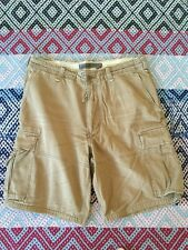 Bermudas Shorts Abercrombie & Fitch 36-44/46 Pantalón Corto Pants Military Army