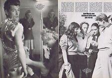 Coupure de presse Clipping 1981 Jean Marais Cocteau & Juliette Gréco  (2 pages)
