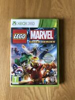 LEGO Marvel Super Heroes Xbox 360 Excellent Condition With Manual Free Postage