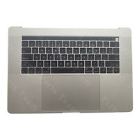 New For Apple MacBook A1707 Palmrest Keyboard Top Case with touchpad Silver 2016