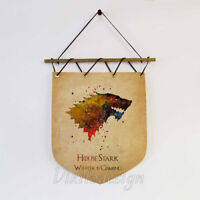Game Of Thrones Banners Houses Flags and Quotes Gift for Men for GOT Lovers