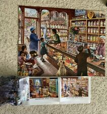 2 White Mountain Puzzles 300 & 500 Pieces Complete