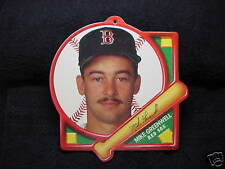 SUPER RARE Mike Greenwell 1980's Tara Toy Plaque, Boston Red Sox, MINT!!