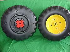 ** New ** Peg-Perego Gator Rear Wheel Tire Set (2 Tires) New Style