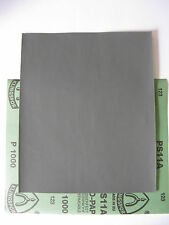 2 x Wet &Dry Silicon carbide1000 grit High Quality Klingspor Waterproof Paper