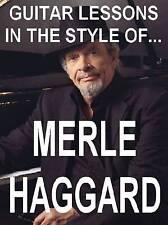 Merle Haggard Style Lead Rhythm Guitar DVD Video Lesson. Big City, Mama Tried.