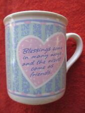 "Hallmark ""Blessings"" Coffee Mug"