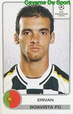 042 ERIVAN BRAZIL BOAVISTA.FC STICKER PANINI UEFA CHAMPIONS LEAGUE 2001-2002