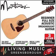 NEW Martinez Beginner Steel String Acoustic Full Size Dreadnought Guitar (Gloss)