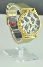 FREE Ship USA Chic Ladies Watch GUESS Gold Leather Women Lovely