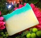 Handmade Coconut Oil Salt Water Beach Sea Breeze  Soap BEST QUALITY Vegan