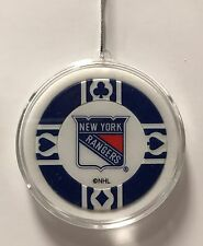 New York Rangers Chip Christmas Tree Hanging Ornament Holiday NHL Hockey Poker