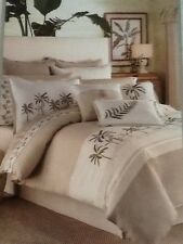 NEW CROSCILL FIJI Tropical Queen Size Comforter Set