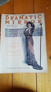 RARE New York Dramatic Mirror Sept 3, 1913 w/ Blanche Ring cover