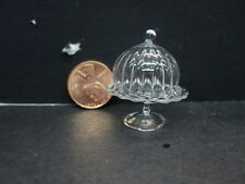 DOLLHOUSE CAKE STAND WITH DOME