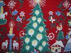 VINTAGE WILENDUR  TOWEL RED  CHRISTMAS