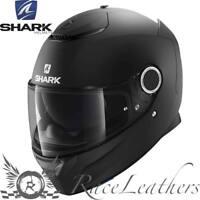 SHARK SPARTAN NEGRO MATE Motocicleta Moto Casco +Pinlock+Visera