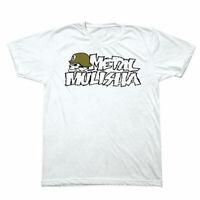 Metal Mulisha Men's Ikon 2 Short Sleeve T Shirt White Clothing T-Shirts Tee