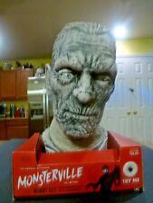 MONSTERVILLE Target Exclusive Talking/Light-Up Mummy Bust Halloween Decoration