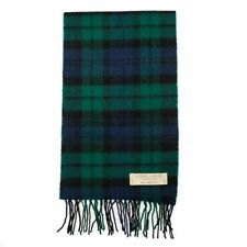 Scottish Lochcarron Wool Tartan Scarf – Black Watch Modern