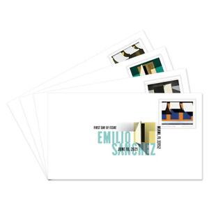 USPS New Emilio Sanchez Digital Color Postmark Set of 4
