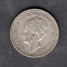 Niederlande - 1/2 Gulden 1922 in schöner Erhaltung, Silber