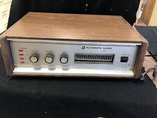 Vintage automatic radio 8  track tape player Japan HGE 6779