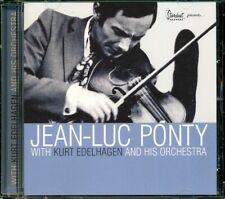 SEALED NEW CD Jean-Luc Ponty - With Kurt Edelhagen & His Orchestra
