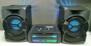 SONY SHAKE X10 STEREO SOUND SYSTEM WITH PARTY LIGHTS - HCDSHAKEX10