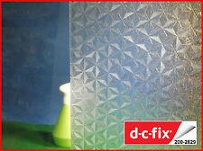 DC FIX Transparent 1m x 45cm Self Adhesive Vinyl Contact Paper Privacy Film 2829