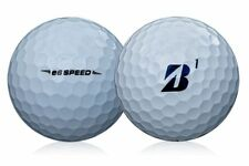 24 MINT / AAAAA Bridgestone E6 Speed Used Recycled Golf Balls + Free Tees