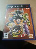 SUPER DRAGON BALL Z SONY PLAYSTATION 2 PS2 GAME NO MANUAL OFFICIAL UK PAL VGC