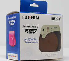 Fujifilm Groovy Case - For Instax Mini 9 - With Shoulder Strap - Brown