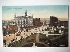 Donegall Square Belfast Old Postcard Valentines Series Dublin