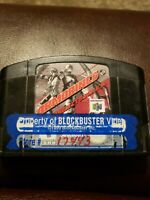 Armorines Project S.W.A.R.M. ( Nintendo N64 ) Tested Working!