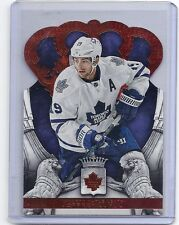 13-14 2013-14 CROWN ROYALE JOFFREY LUPUL RED PARALLEL /99 59 TORONTO MAPLE LEAFS