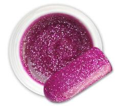 Sargas Purple 093 GEL UV E LED GLITTER COLORATO RICOSTRUZIONE UNGHIE NAIL ART