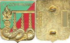 13° D.B.L.E, 4° Cie, LEGION , Pont Viaduc, émail,  matriculé