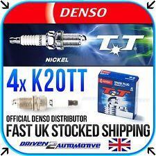 4x DENSO K20TT 4604 NICKEL TT SPARK PLUGS FOR CITROËN SAXO 1.1 X,SX 05.96-09.03