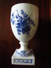 "Antique~Royal Copenhagen~Blue Flowers Plain~Base Goblet~Vase~Item 10/1754~7 1/2"""