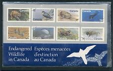 Weeda Canada Thematic Collection #17, 1981 Endangered Wildlife folder CV $7.50