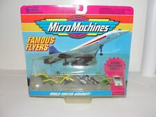 Vintage Micro Machines 64000 Famous Flyers World Famous Aircraft