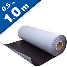 Magnetfolie selbstklebend roh braun 0,5mm x  62cm x 100cm – Meterware