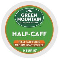 Green Mountain Coffee Half-Caff, Keurig K-Cup Pod, Medium Roast, 96 Count