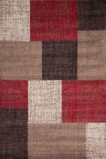 Tapis rouge pour le salon, 160 cm x 230 cm