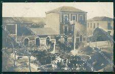 Crotone Cotrone città piazza lucente Foto postcard cartolina KF3461